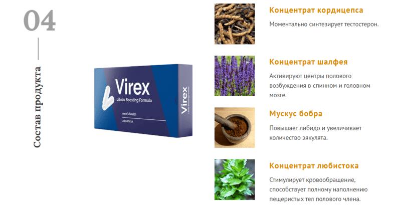 Состав Вирекс